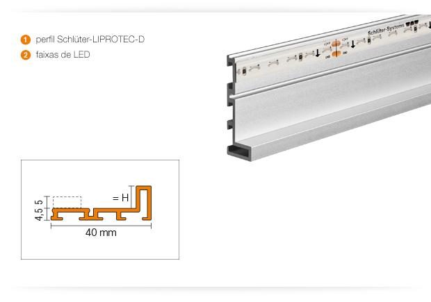 Produktdetails Schlüter®-LIPROTEC-D